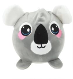 Knuffel Squeezies Koala Junior 20 Cm Pluche Wit/grijs