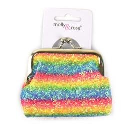 Rainbow/regenboog Portemonnee