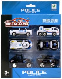 SIX-SIX-ZERO  6 verschillende politievoertuigen
