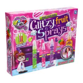 Maak je eigen Glitzy Fruit Sprays