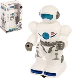 Robot met licht en geluid