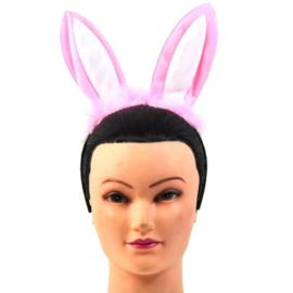 Bunny/Konijnen oren roze