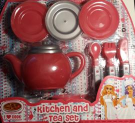 Keuken en thee set