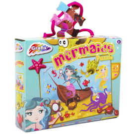 Zeemeerminnen Puzzel Mermaids  45 stukjes