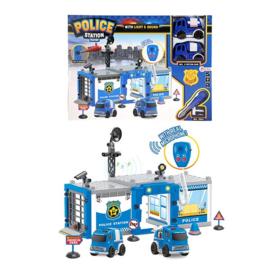 Politiebureau incl. twee frictie auto's en micofoon