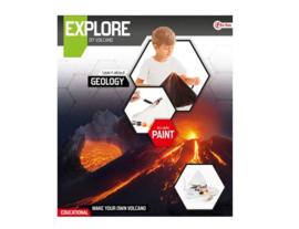 EXPLORE Wetenschap set -maak een vulkaan (diy)