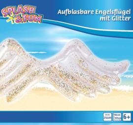 Zwembed engelvleugels met glitter