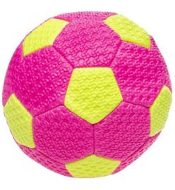 Voetbal Neon roze ( D15cm)