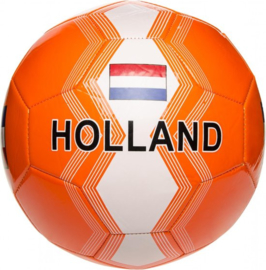 Voetbal Holland 22 Cm Rood/wit/blauw