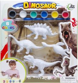 Schilder Je Eigen Dino Stegosaurus Junior 21,5 Cm