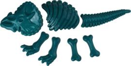 Zandvormen Dinosaurus  35 Cm Groen/Blauw 7-delig