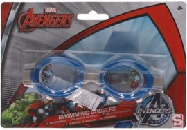 Avengers kinder zwembril blauw 3 tot 12 jaar