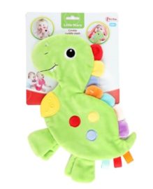 LITTLE STARS Baby knisperdoekje 'Dino'