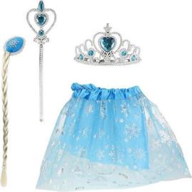 Ijsprinses Verkleedset 4-delig