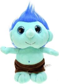 Knuffel Trol Groen/blauw 25 Cm
