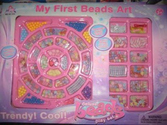 My first bead arts
