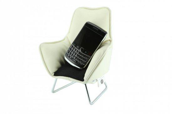 Music chair telefoon wit
