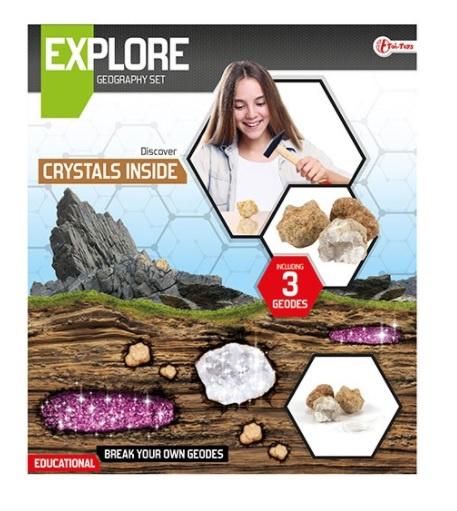EXPLORE Geodes breken