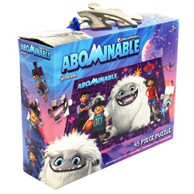 Abominabele puzzel van 45 stukjes