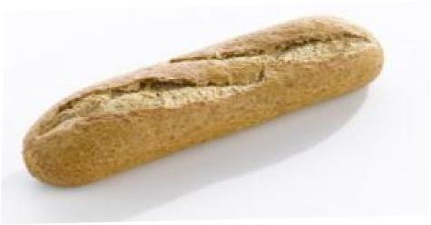 Demi Baquette bruin ( half stokbrood bruin )