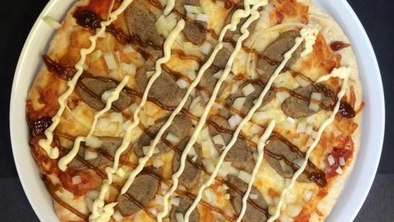 Pizza Frikandel Speciaal