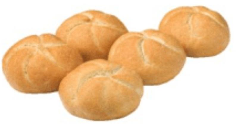 5 Kaiserbroodjes