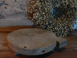 Oude houten chapati
