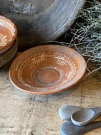 Oud schaaltje - aardewerk