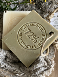 Plak Marseille zeep - olijf