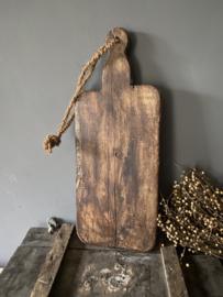 Oude houten serveerplank F