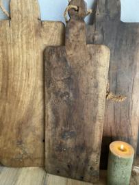 Oude houten serveerplank A