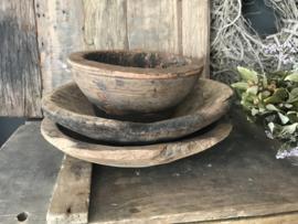 Oud houten schaaltje