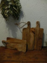 Snijplankje, serveerplankje mangowood 35 x 15 cm