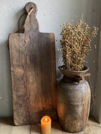 Oude houten serveerplank E
