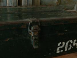 Metalen kist
