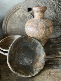 Oud houten schaaltje - B