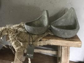 """Set van 2 stenen lichtjes """"spoon"""""""