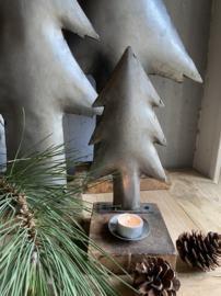 IJzeren stoere kerstboom met cup