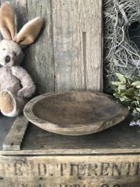 Oud houten Parat schaaltje - B
