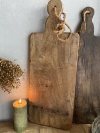 Oude houten serveerplank D