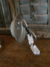 Wandlamp zinkkleur