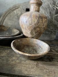 Oud houten schaaltje - A