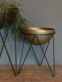 Metalen plantenbak - klein