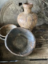 Oud houten schaaltje - C
