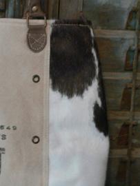 Grote vintage tas Cow