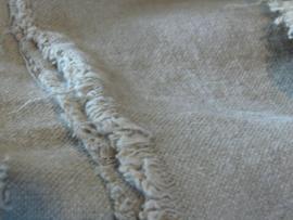 Raw linnen doek met zeiloog