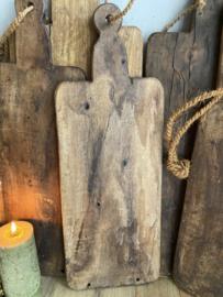 Oude houten serveerplank C