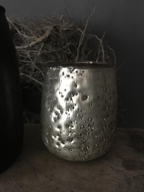 Windlicht  Crinck Silver