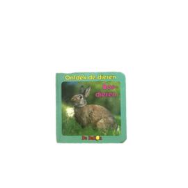 Ontdek de bosdieren - kartonboekje