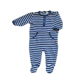 56 - Pyjama blauwe strepen